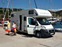 Camp sistemazione in camper Croazia Yacht Club